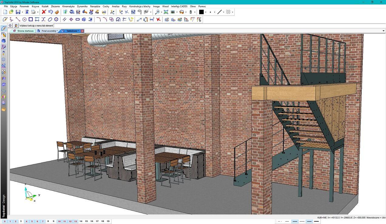 TopSolid Wood 2020 Program do projektowania mebli