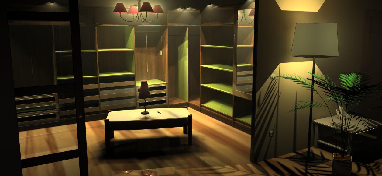 TopSolid Wood Wizualizacja Garderoby Program do Projektowania Mebli