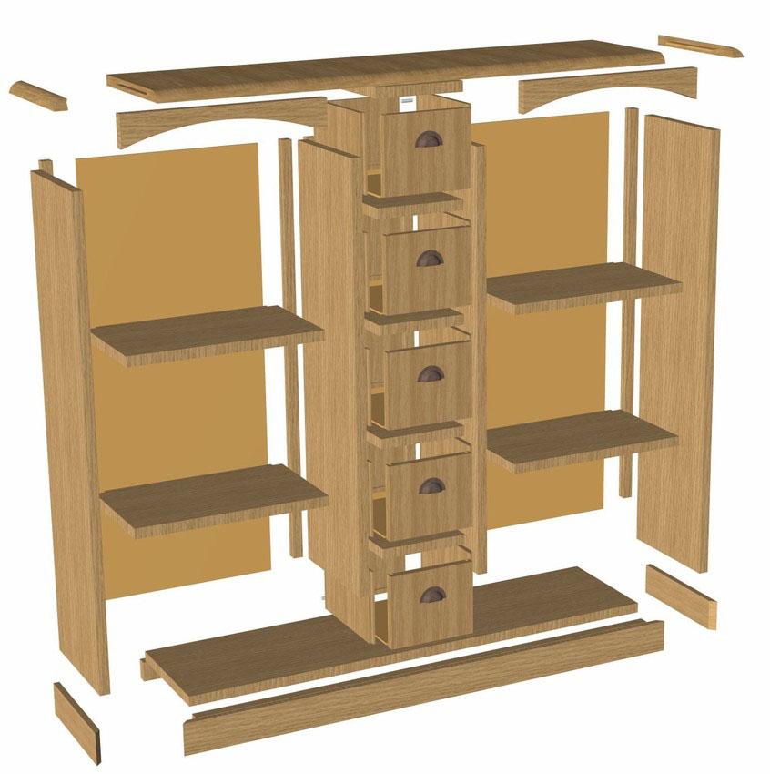 TopSolid Wood - szafka 2