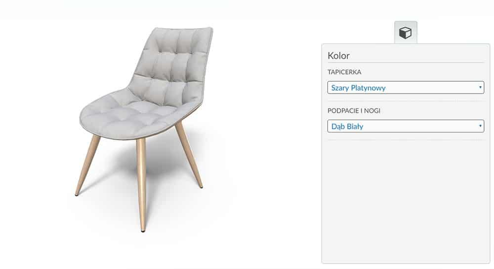 Variantic Krzesło Tapicerowane