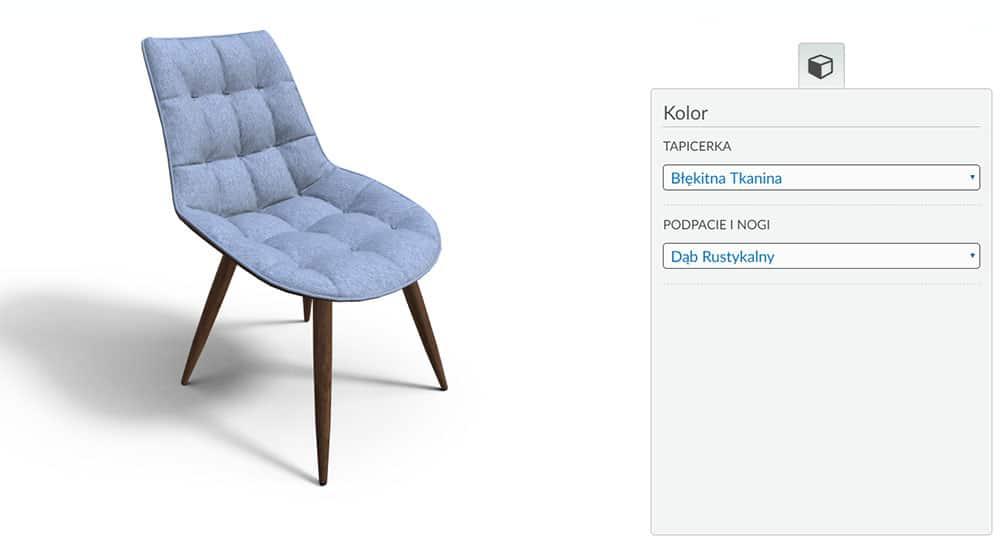 Variantic Krzeslo Tapicerowane 2