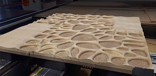 Produkcja panelu dekoracyjnego - DREMA 2018