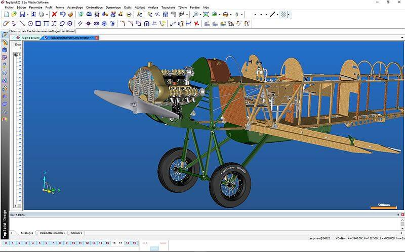 TopSolid Wood - Samolot Potez 25