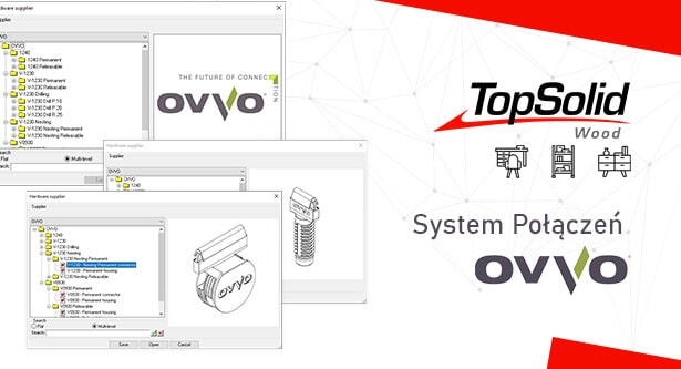 TopSolid Wood - System połączeń OVVO