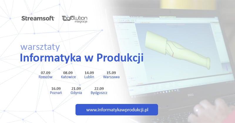Warsztaty - Informatyka w Produkcji - Darmowe